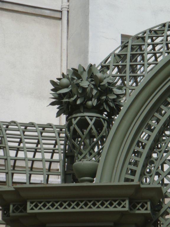 Ornement d'une pilastre