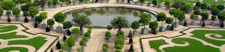 Des Jardins historiques