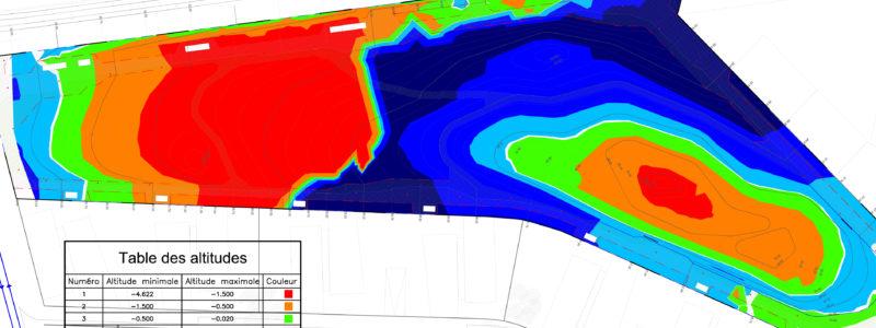 Relevé topographique en 3D - Bojardin - Relevé topographique en 3D